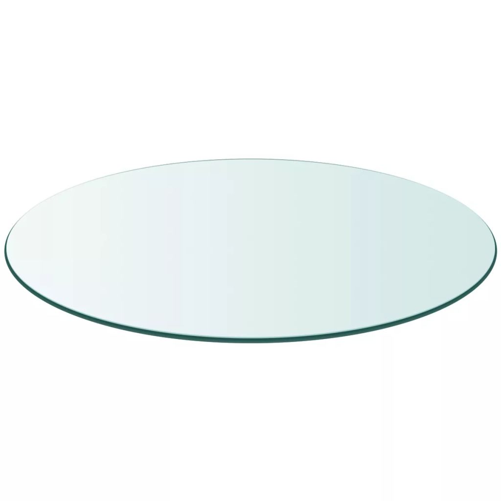 Table Top Tempered Glass Round 400 mm 1