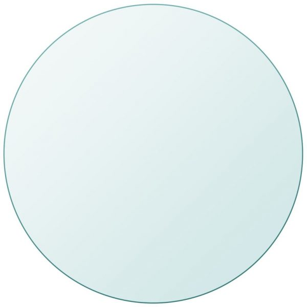 Table Top Tempered Glass Round 400 mm 2