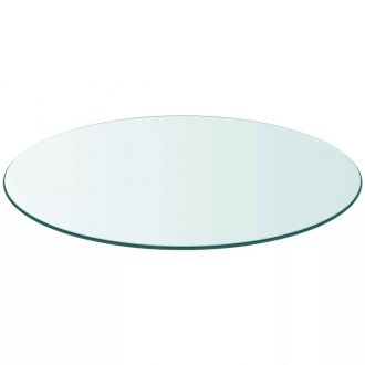 Table Top Tempered Glass Round 500 mm 1