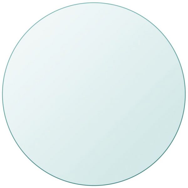 Table Top Tempered Glass Round 600 mm 2
