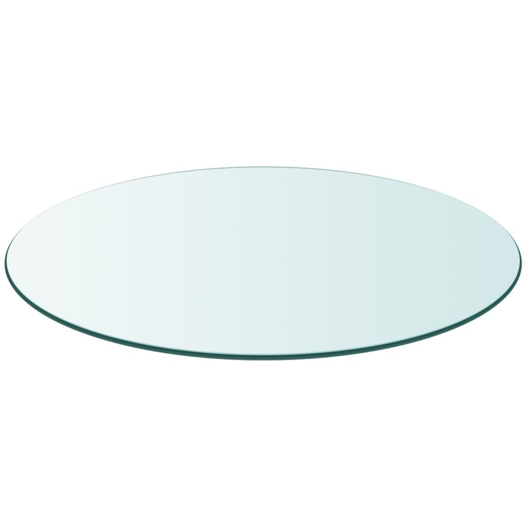 Table Top Tempered Glass Round 700 mm 1