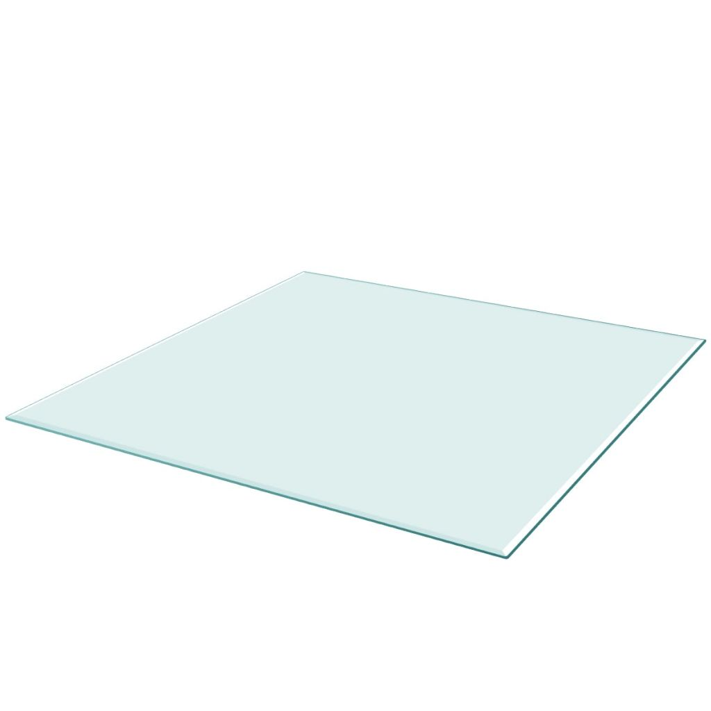 Table Top Tempered Glass Square 800×800 mm 1