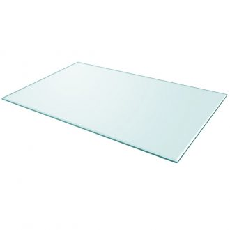 Table Top Tempered Glass Rectangular 1000×620 mm 1