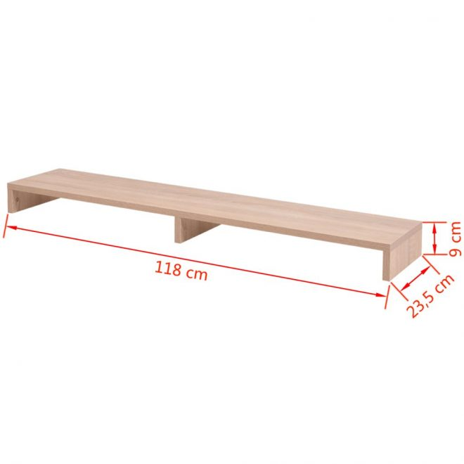 Monitor Stand Chipboard 118×23