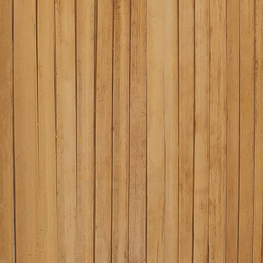 5-Panel Room Divider Bamboo 200×160 cm 2