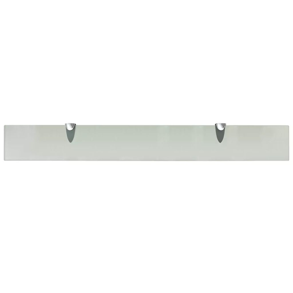 Floating Shelf Glass 80×10 cm 8 mm 3