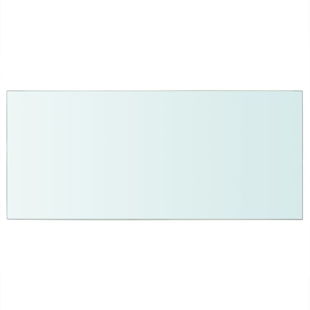 Shelf Panel Glass Clear 50×25 cm 2