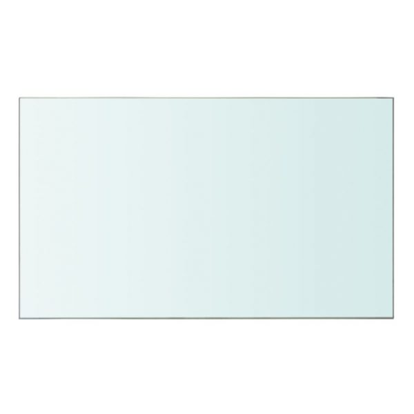 Shelf Panel Glass Clear 50×30 cm 2