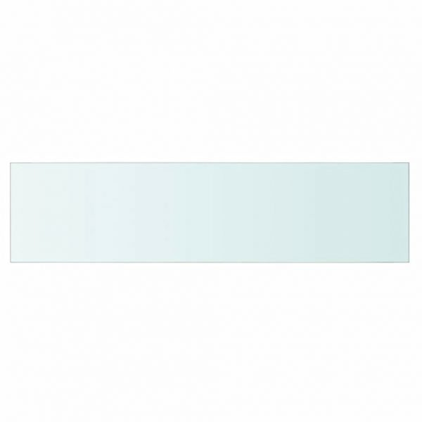 Shelf Panel Glass Clear 80×20 cm 2