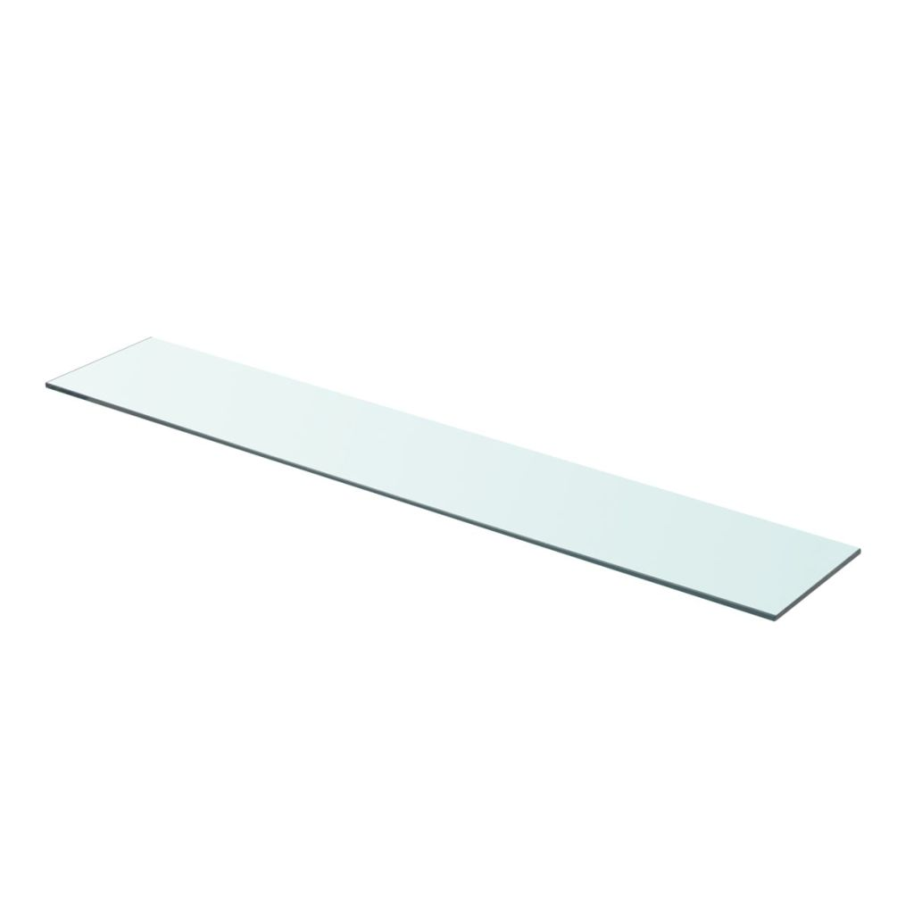 Shelf Panel Glass Clear 90×15 cm 1