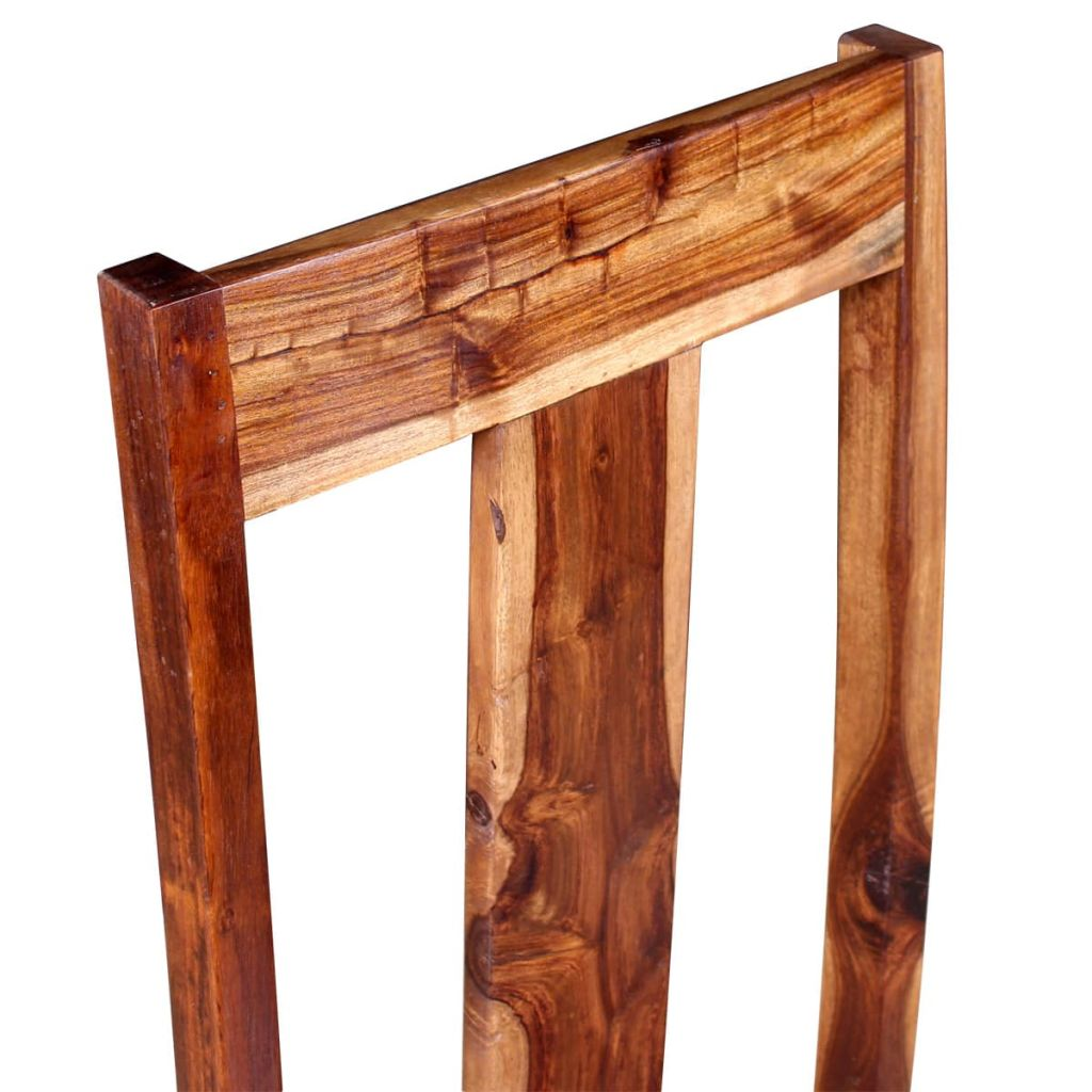 Dining Chairs 2 pcs Solid Sheesham Wood 9