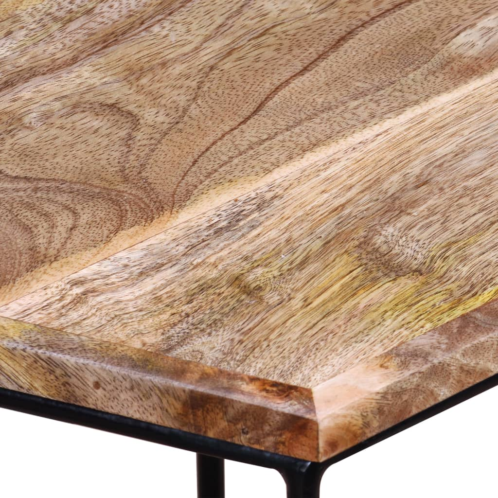 Coffee Table Solid Mango Wood 48x48x40 cm 10
