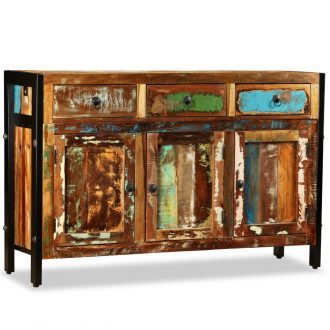 Sideboard Solid Reclaimed Wood 120x35x76 cm 1