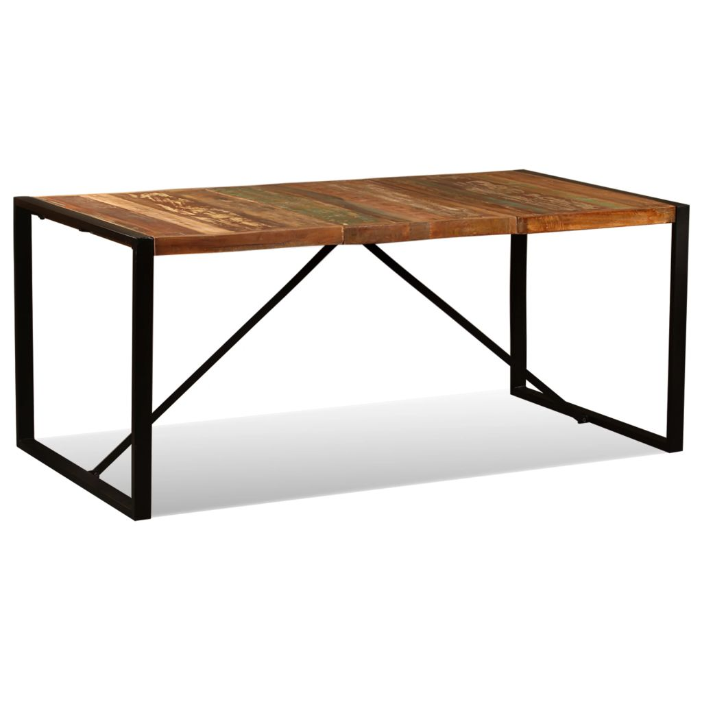 Dining Table Solid Reclaimed Wood 180 cm 1
