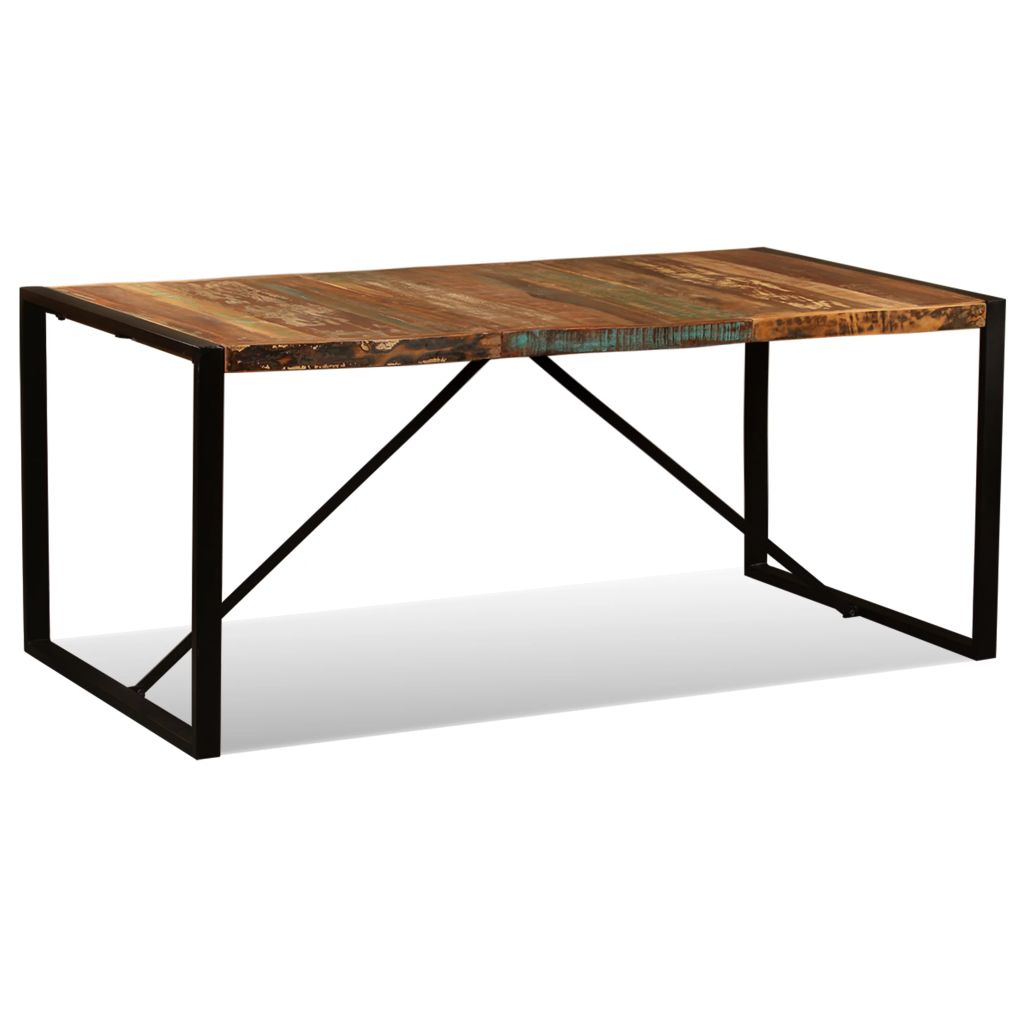 Dining Table Solid Reclaimed Wood 180 cm 3