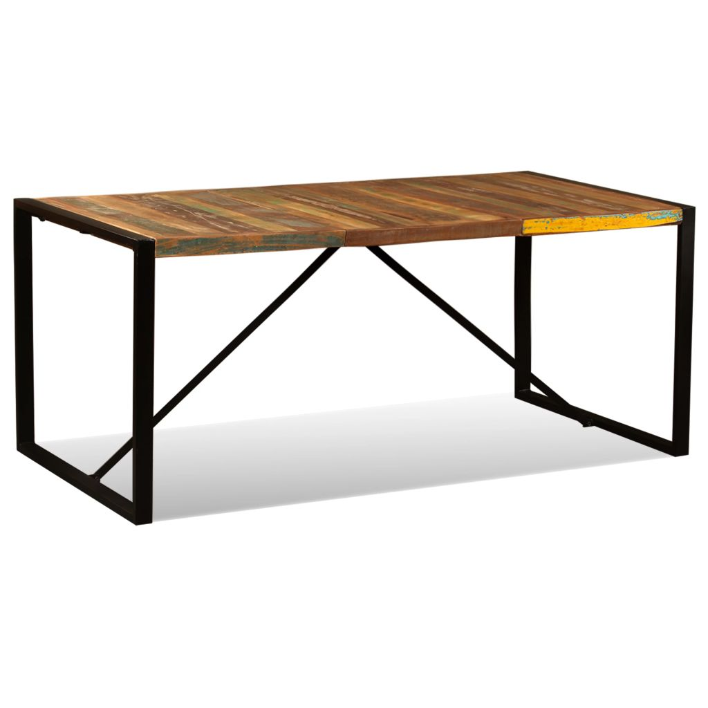 Dining Table Solid Reclaimed Wood 180 cm 4