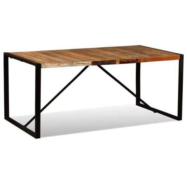Dining Table Solid Reclaimed Wood 180 cm 5