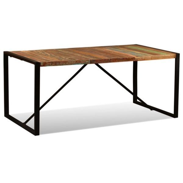 Dining Table Solid Reclaimed Wood 180 cm 6