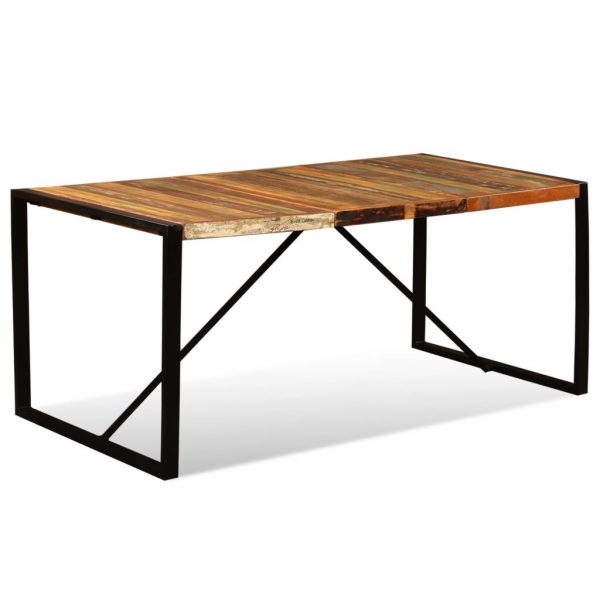 Dining Table Solid Reclaimed Wood 180 cm 7