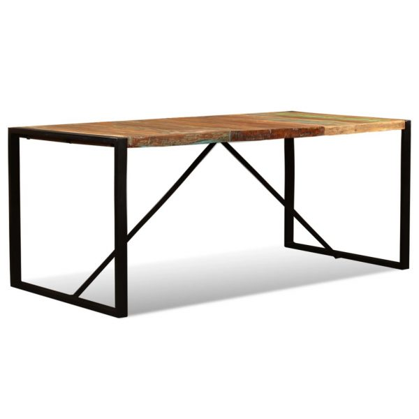 Dining Table Solid Reclaimed Wood 180 cm 8