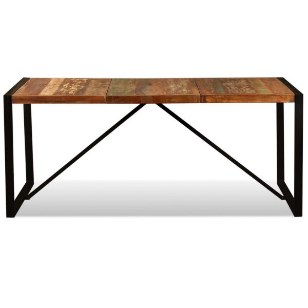Dining Table Solid Reclaimed Wood 180 cm 9
