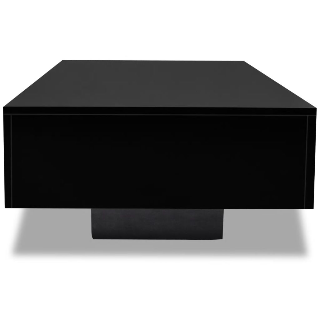 Coffee Table High Gloss Black 4