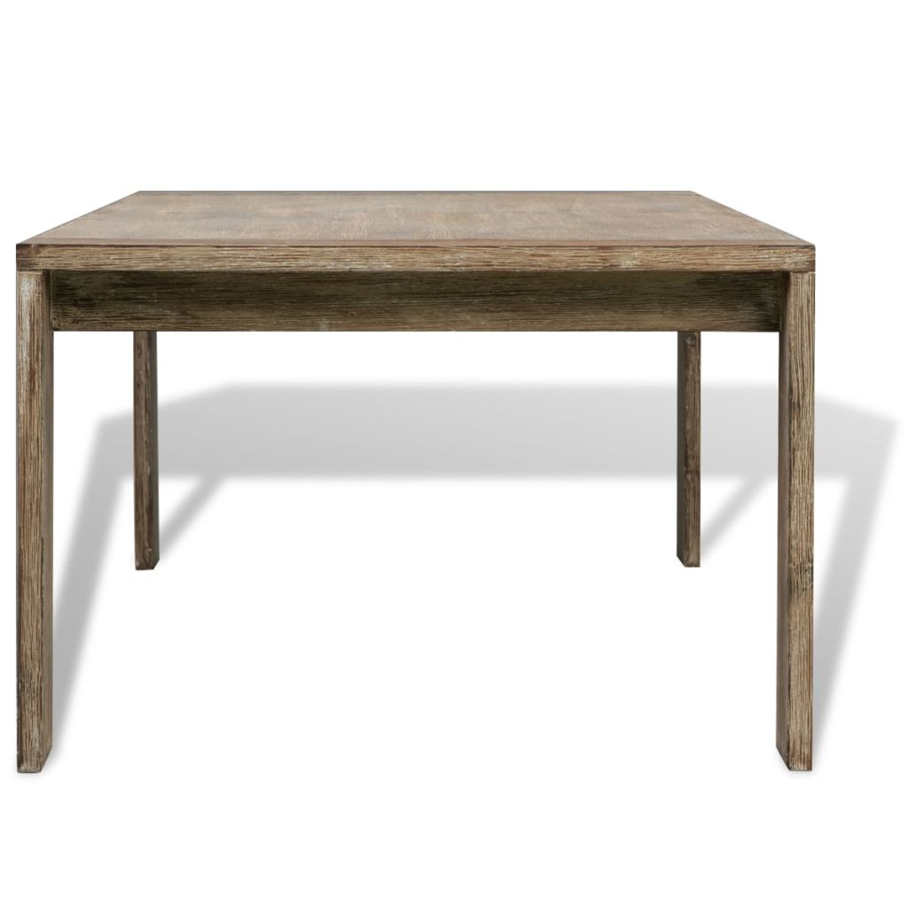 Coffee Table Solid Brushed Acacia Wood 110x60x40 cm 4