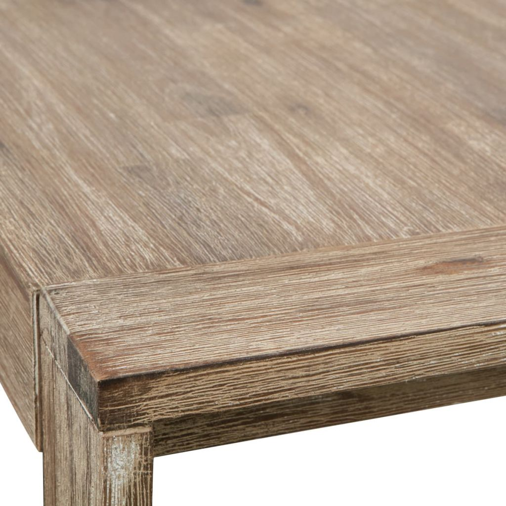 Coffee Table Solid Brushed Acacia Wood 110x60x40 cm 5