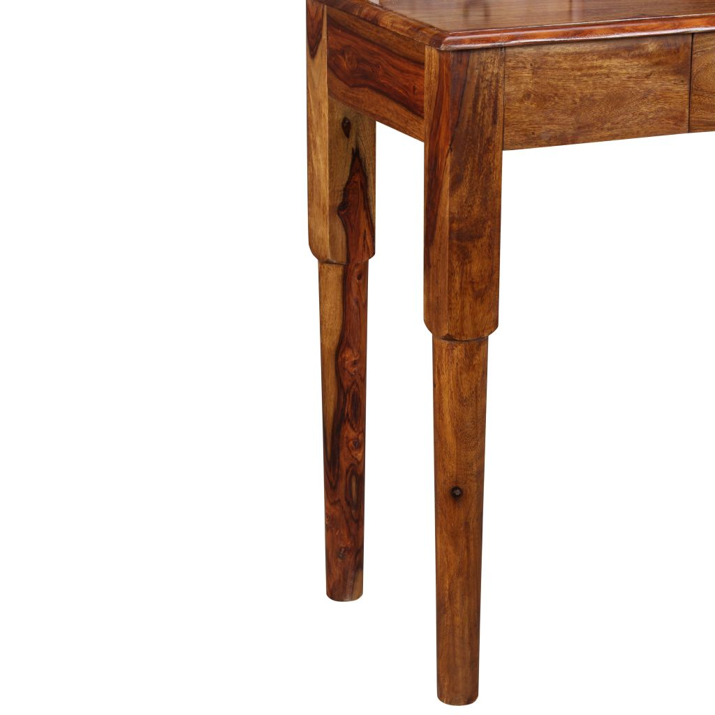 Writing Desk with 5 Drawers Solid Sheesham Wood 90x40x90 cm 8