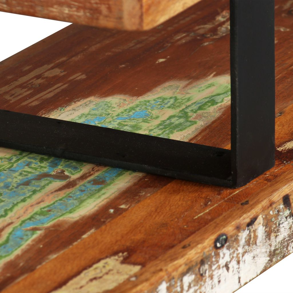 TV Stand Solid Reclaimed Wood 9