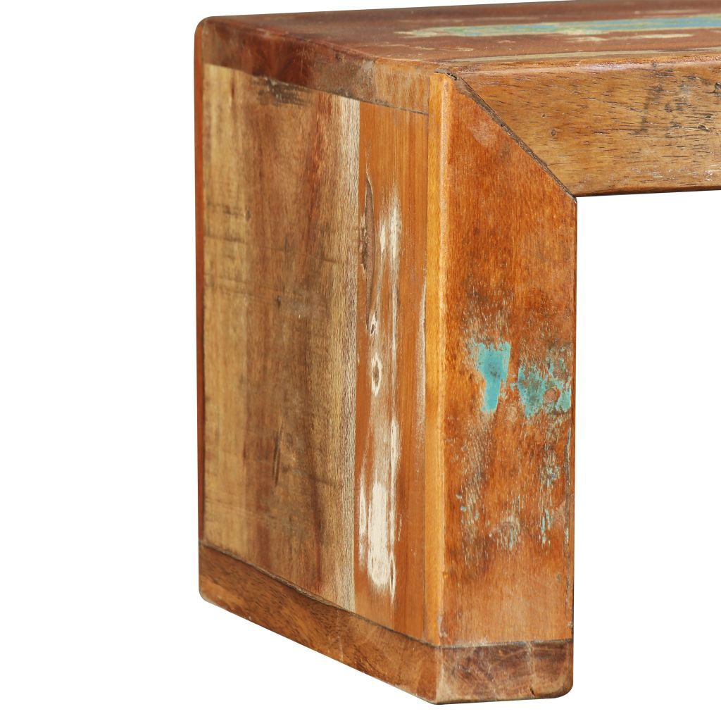 TV Stand Solid Reclaimed Wood 10