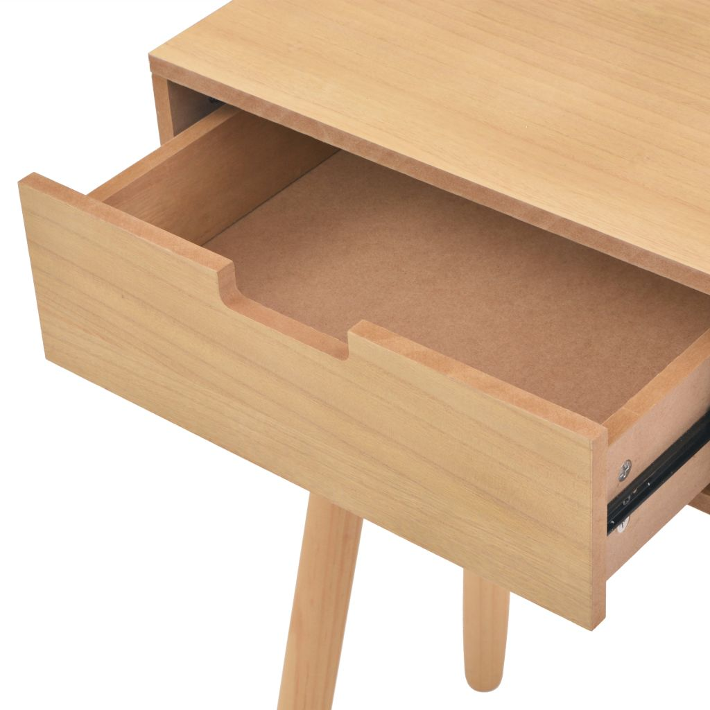 Console Table Solid Pinewood 80x30x72 cm Brown 5
