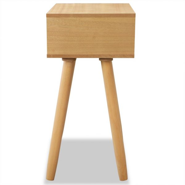 Bedside Tables 2 pcs Solid Pinewood 40x30x61 cm Brown 6
