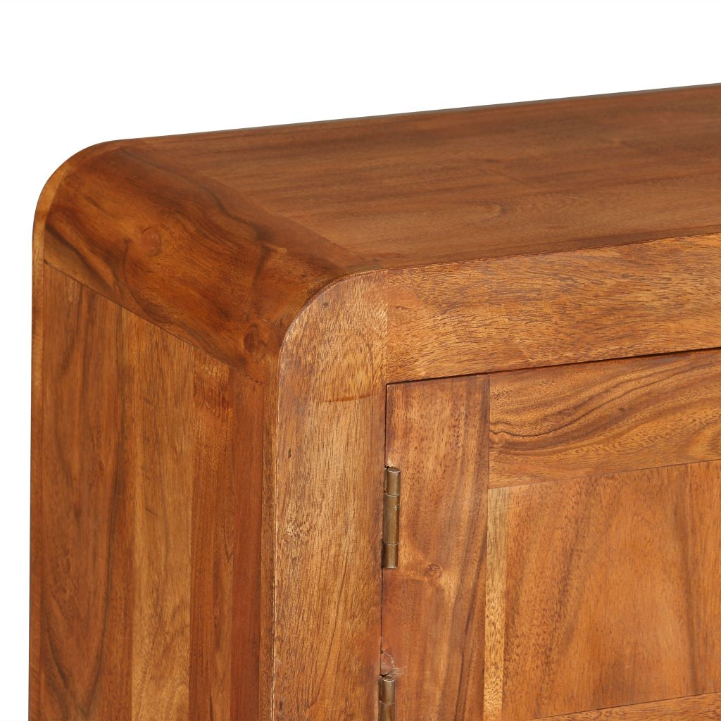 TV Cabinet 120x30x40 cm Solid Wood with Sheesham Finish 9