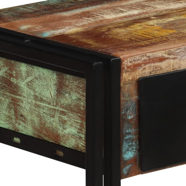 Console Table Solid Reclaimed Wood 120x30x76 cm 3