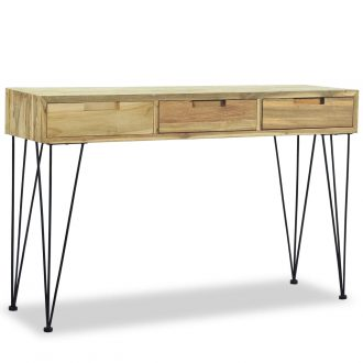 Console Table 120x35x76 cm Solid Teak 1