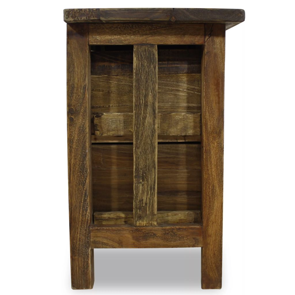 Nightstand Solid Reclaimed Wood 40x30x51 cm 5