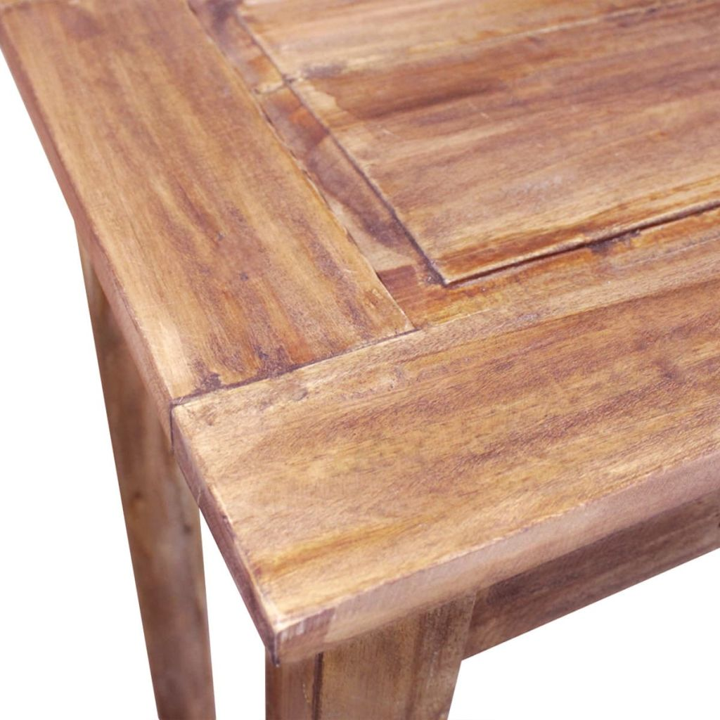 Console Table Solid Reclaimed Wood 123x42x75 cm 4