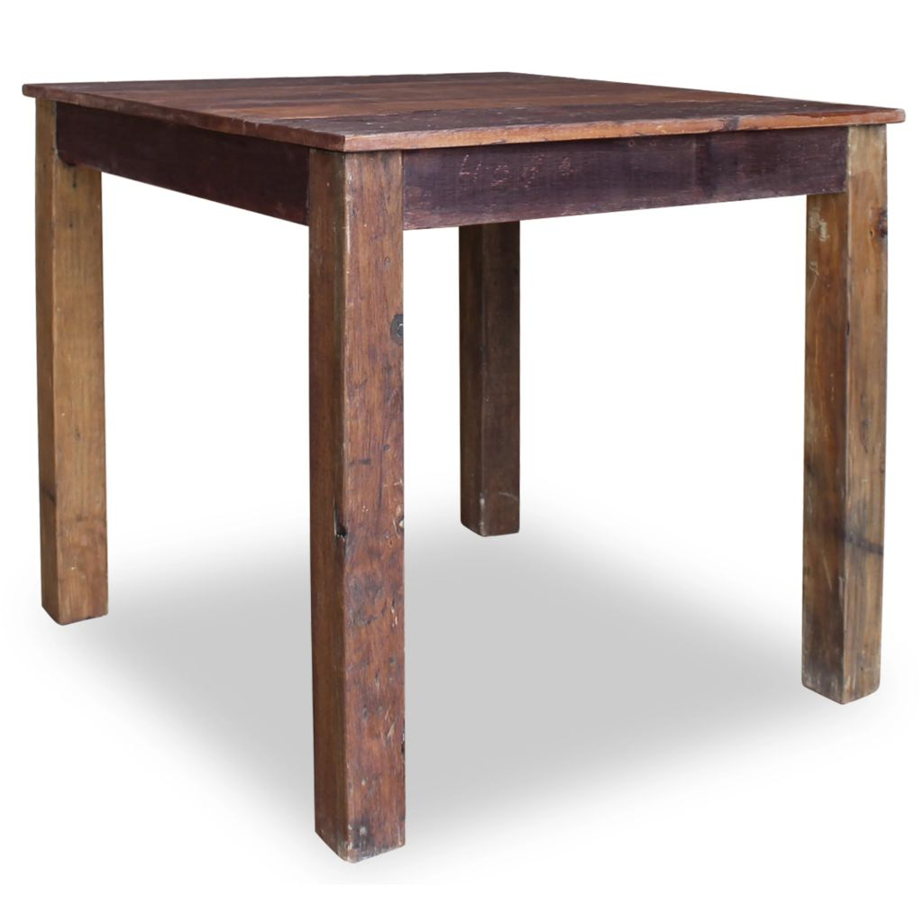 Dining Table Solid Reclaimed Wood 82x80x76 cm 4