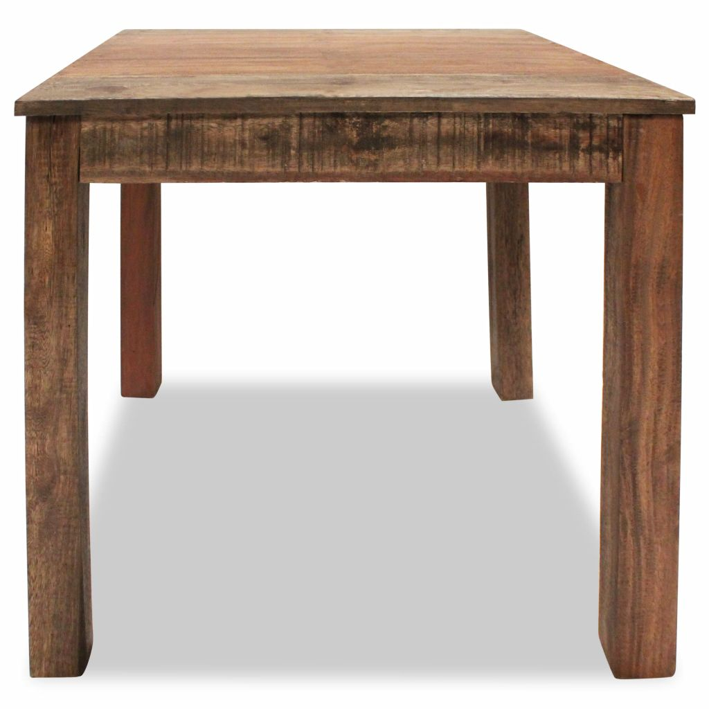 Dining Table Solid Reclaimed Wood 82x80x76 cm 5