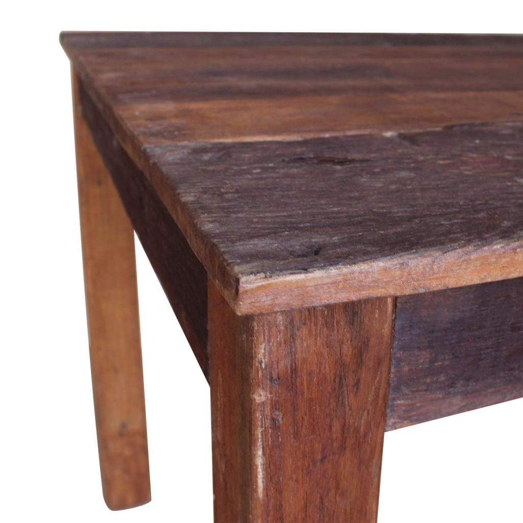 Dining Table Solid Reclaimed Wood 82x80x76 cm 6
