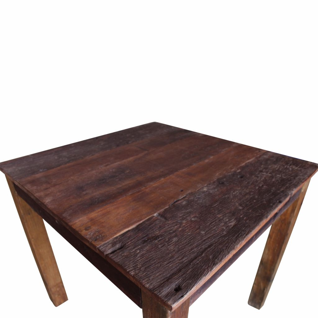 Dining Table Solid Reclaimed Wood 82x80x76 cm 7
