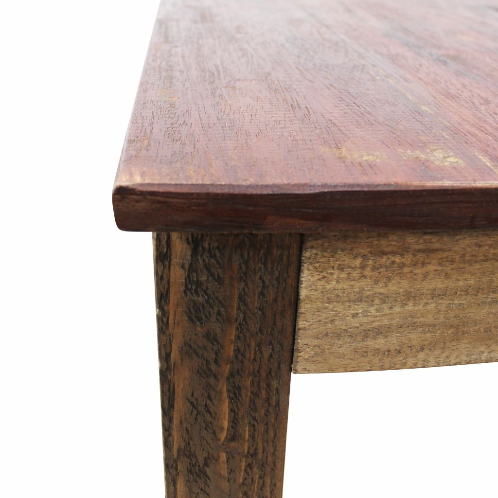 Dining Table Solid Reclaimed Wood 82x80x76 cm 8