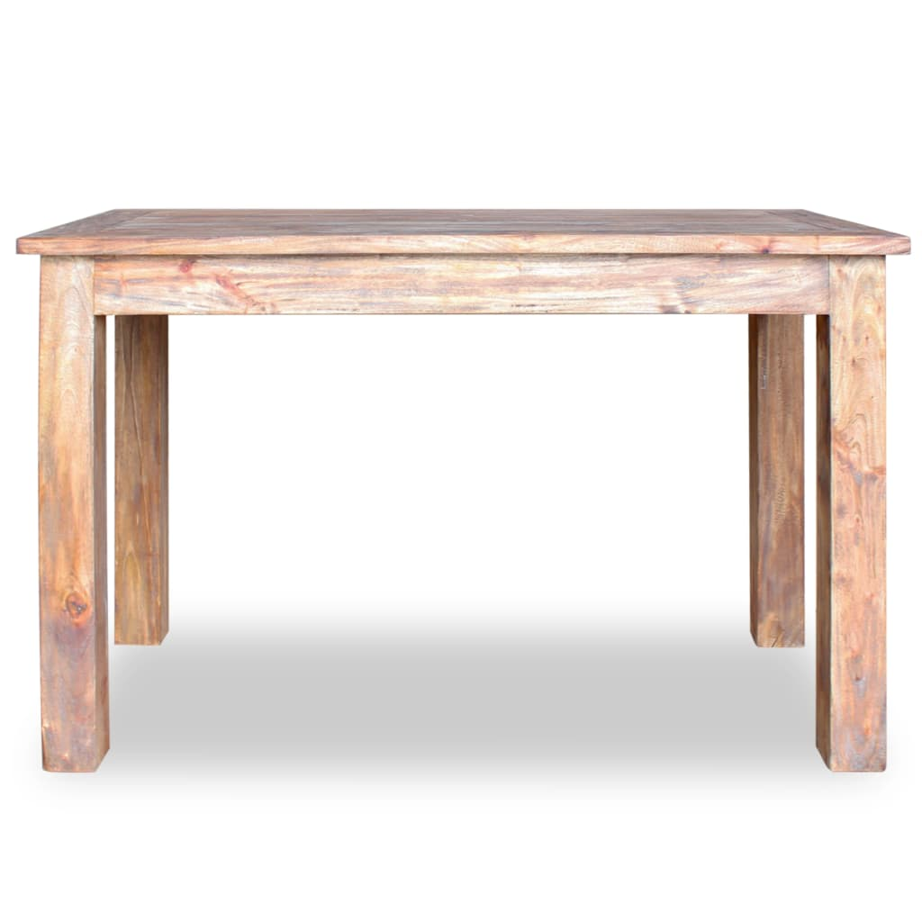 Dining Table Solid Reclaimed Wood 120x60x77 cm 4
