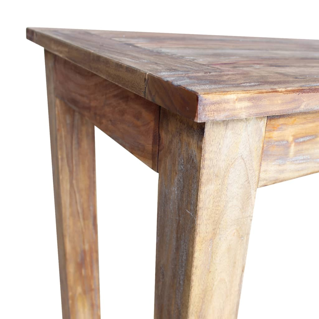 Dining Table Solid Reclaimed Wood 120x60x77 cm 5
