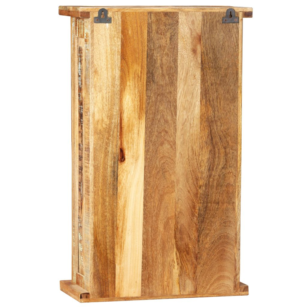 Wall Cabinet Solid Reclaimed Wood 44x21x72 cm 6