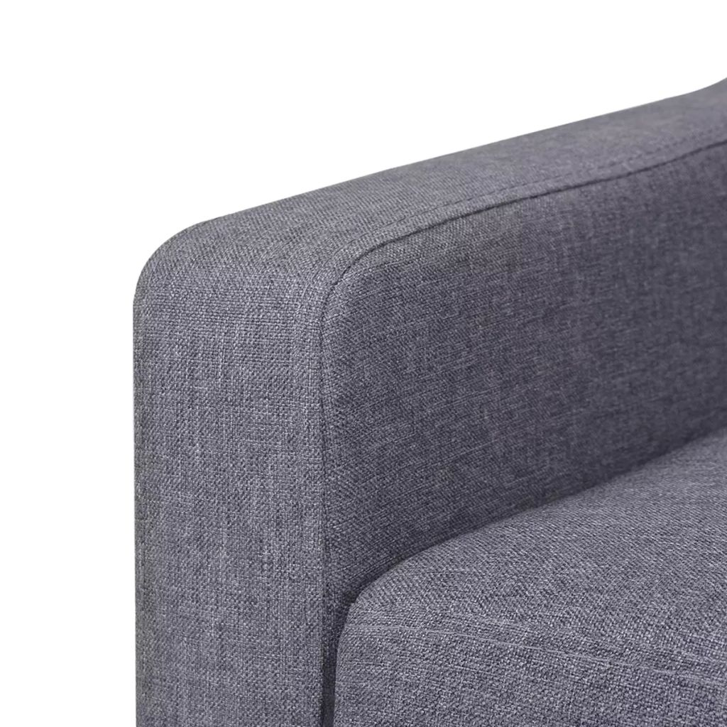 Armchair Grey Fabric 6