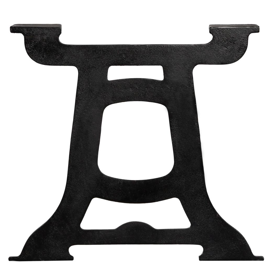 Coffee Table Legs 2 pcs Y-Frame Cast Iron 6