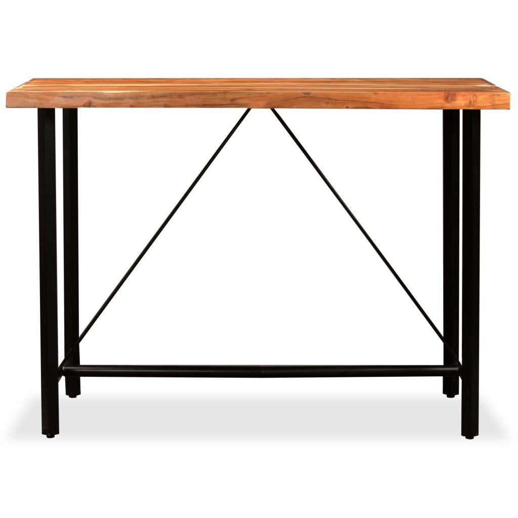 Bar Table 150x70x107 cm Solid Sheesham Wood 2