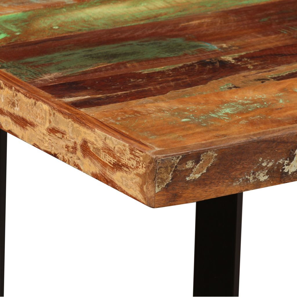 Bar Table 120x60x107 cm Solid Reclaimed Wood 4